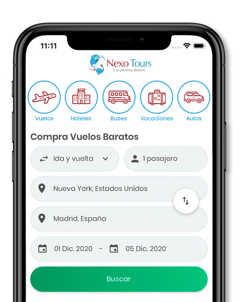 App Nexo Tours